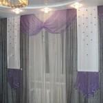 шторы для спальни с панелями