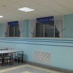 шторы в школьную столовую