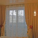 Двойные шторы для спальни