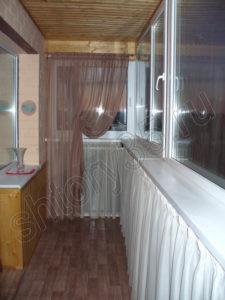 балконная боковая штора