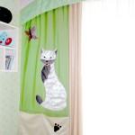 Детские шторы с кошками