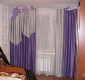фиолетовая штора3