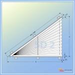 Шторы плиссе SD 2 Треугольник