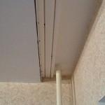 Натяжной потолок с нишей