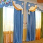Детские шторы с ламбрекеном