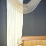 Текстильный декор для экспозиции