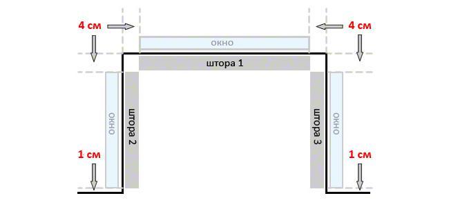 Эркер с прямыми углами – три окна