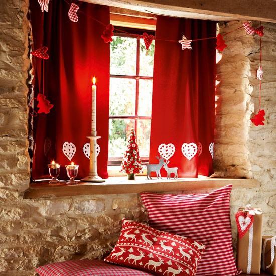Новогодние шторы 2